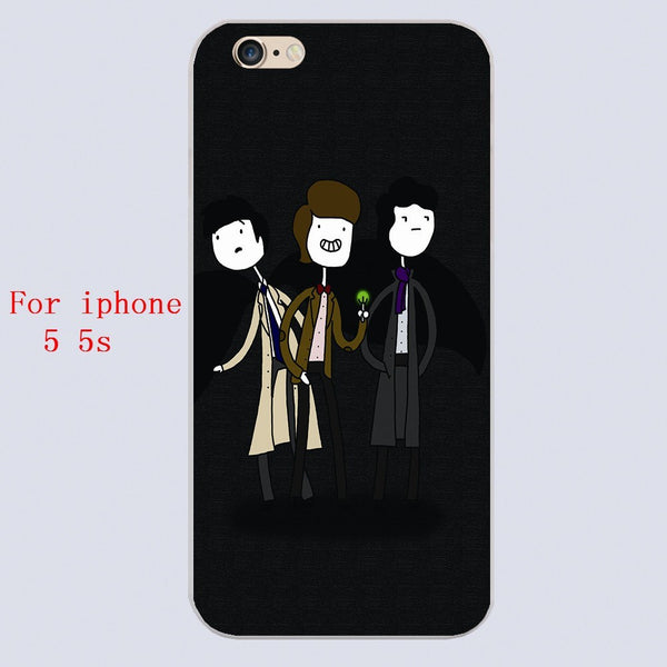 Superwholock Iphone Covers (Free Shipping) - Phone Cover - Supernatural-Sickness - 3