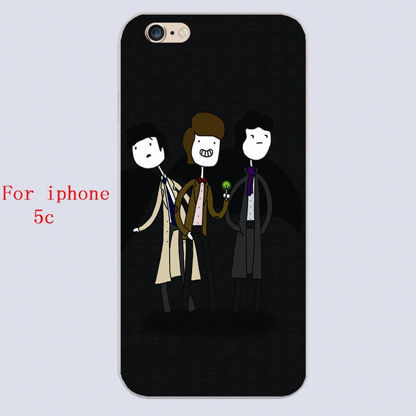 Superwholock Iphone Covers (Free Shipping) - Phone Cover - Supernatural-Sickness - 4