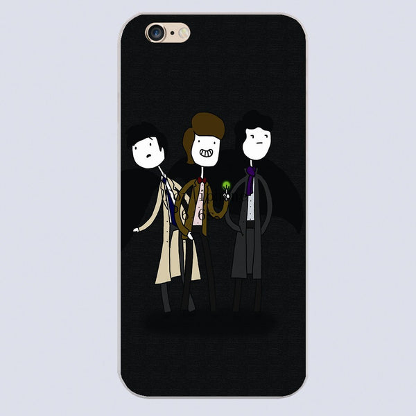 Superwholock Iphone Covers (Free Shipping) - Phone Cover - Supernatural-Sickness - 5