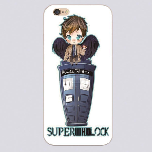 Superwholock Phone Covers (Free Shipping) - Phone Cover - Supernatural-Sickness - 1