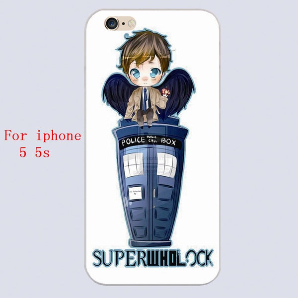 Superwholock Phone Covers (Free Shipping) - Phone Cover - Supernatural-Sickness - 3