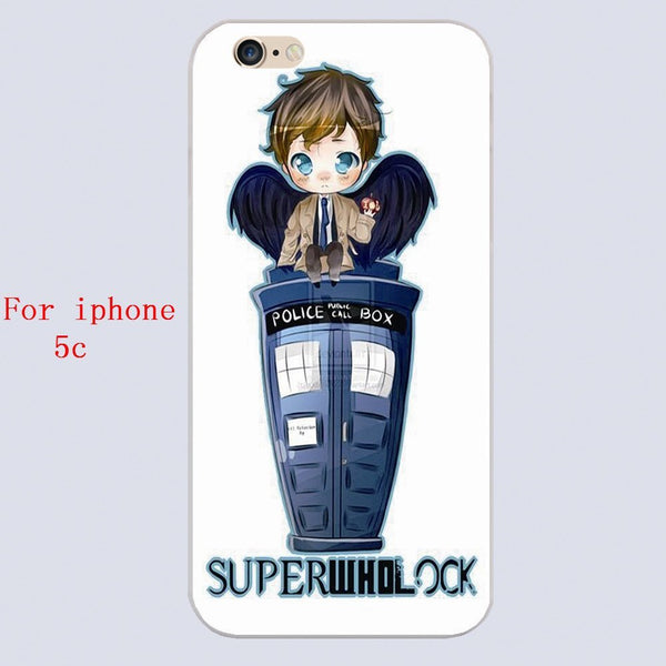Superwholock Phone Covers (Free Shipping) - Phone Cover - Supernatural-Sickness - 4