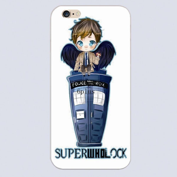Superwholock Phone Covers (Free Shipping) - Phone Cover - Supernatural-Sickness - 6