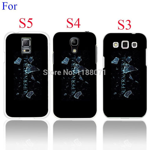 Supernatural Case Cover for Galaxy S3 S4 S5 (Free Shipping) - Phone Covers - Supernatural-Sickness - 1
