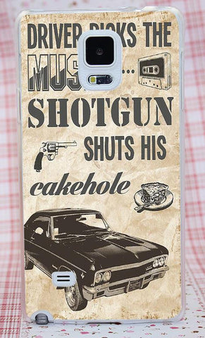 Supernatural Transparent Impala Phone Cover For Samsung Phones (Free Shipping) - Phone Covers - Supernatural-Sickness - 1
