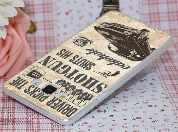 Supernatural Transparent Impala Phone Cover For Samsung Phones (Free Shipping) - Phone Covers - Supernatural-Sickness - 4