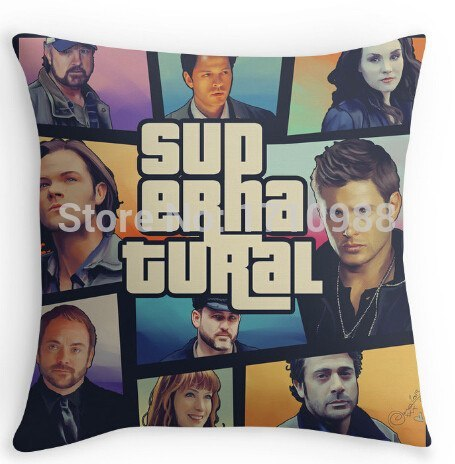 Supernatural Cast Pillow Cover - Pillow Case - Supernatural-Sickness - 1