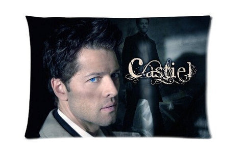 Supernatural Castiel Pillow Cover 40x60cm - Pillow Case - Supernatural-Sickness