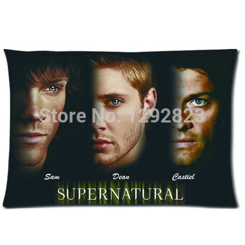 Supernatural Sam Dean Cas Pillow Cover - Pillow Case - Supernatural-Sickness