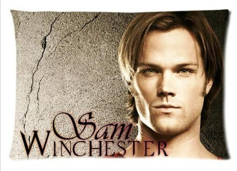 Supernatural Sam Winchester Two Sided Pillow Cover - Pillow Case - Supernatural-Sickness