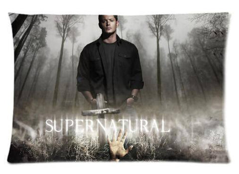 Supernatural Two Sided Pillow Cover - Pillow Case - Supernatural-Sickness