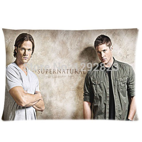 Supernatural Winchester Bros Pillow Cover - Pillow Case - Supernatural-Sickness