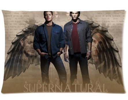 Supernatural Winchester Bros Pillow Cover 50x75cm - Pillow Case - Supernatural-Sickness