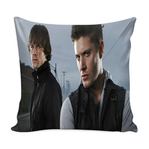 Sam And Dean Winchester - Pillow Case - Pillows - Supernatural-Sickness