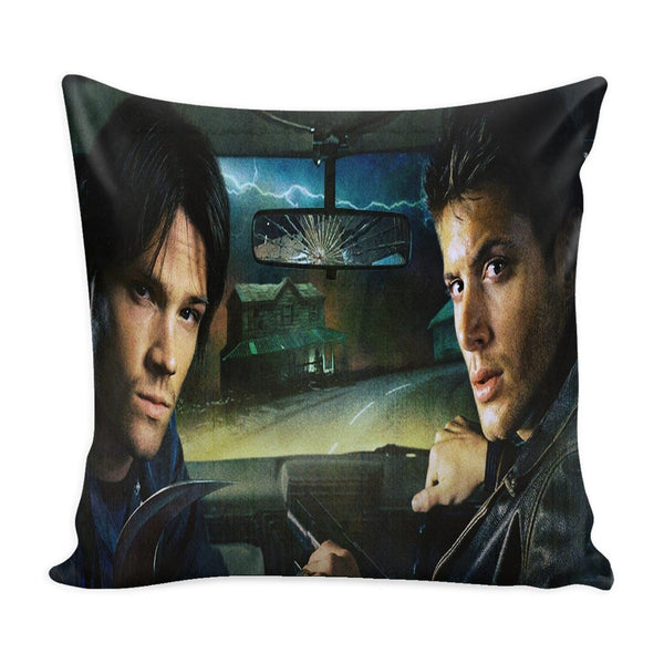 Sam And Dean Winchester - Pillow Case - Pillows - Supernatural-Sickness - 1