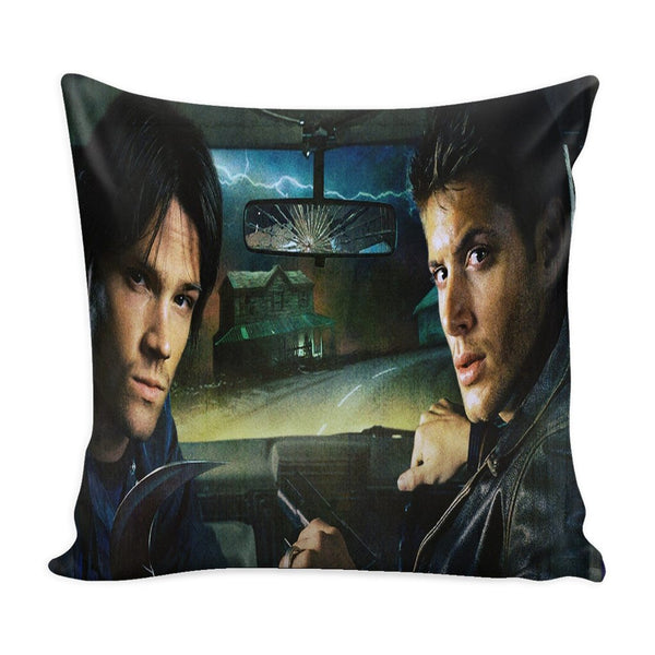 Sam And Dean Winchester - Pillow Case - Pillows - Supernatural-Sickness - 2