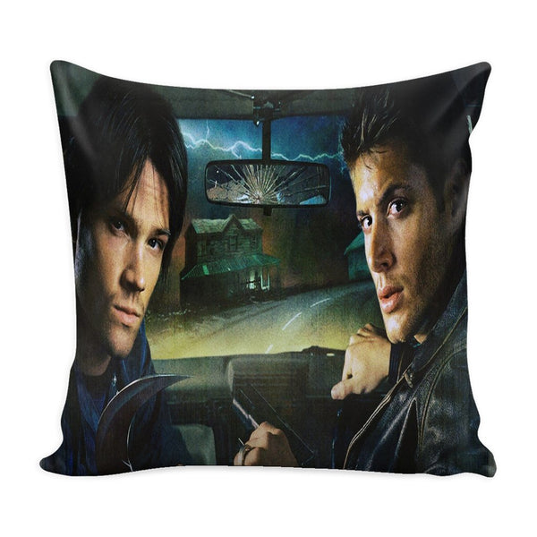 Sam And Dean Winchester - Pillow Case - Pillows - Supernatural-Sickness - 3