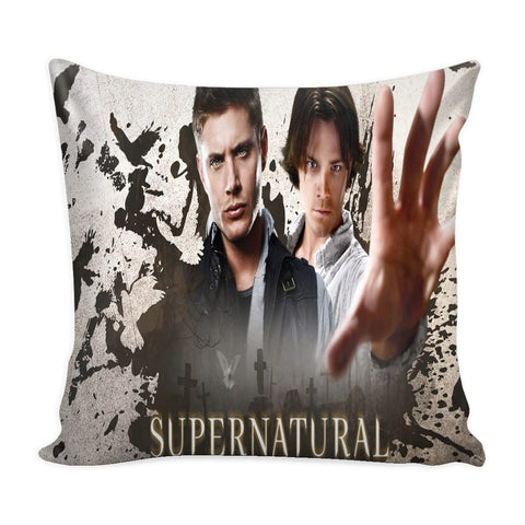 Supernatural Sam And Dean Winchester - Pillow Case - Pillows - Supernatural-Sickness