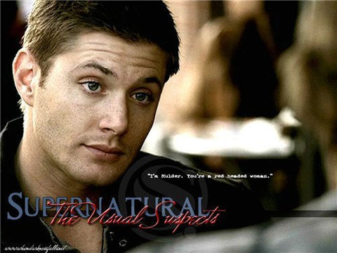 Poster - Supernatural Dean Winchester Wall Poster 20x30inch