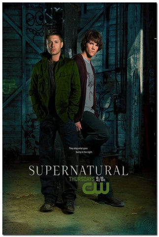 Poster - Supernatural Winchester Bros Wall Poster