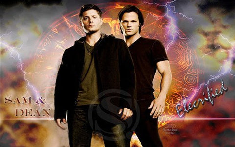 Supernatural Winchester Bros Wall Poster 27x40cm - Poster - Supernatural-Sickness