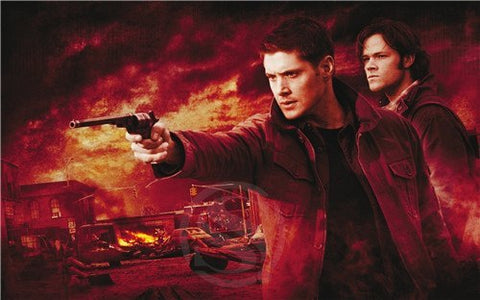 Poster - Supernatural Winchester Bros Wall Poster 27x40cm