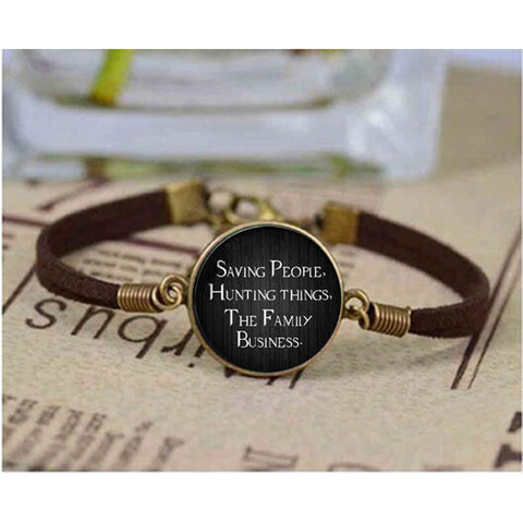 Saving People Hunting Things The Family Business Bracelet