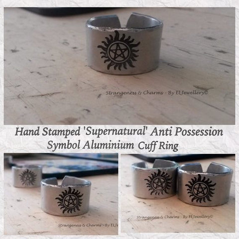 Supernatural Anti Possession Symbol Ring - Ring - Supernatural-Sickness - 1