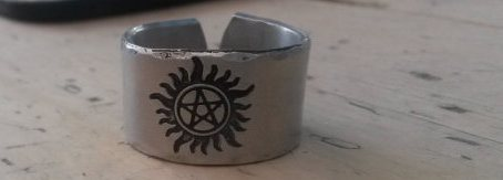 Supernatural Anti Possession Symbol Ring - Ring - Supernatural-Sickness - 2