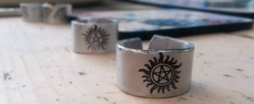 Supernatural Anti Possession Symbol Ring - Ring - Supernatural-Sickness - 3