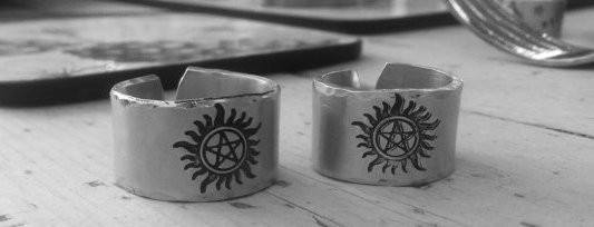 Supernatural Anti Possession Symbol Ring - Ring - Supernatural-Sickness - 4