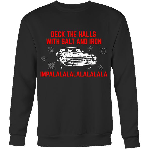 Deck The Halls With Salt and Iron - T-shirt - Supernatural-Sickness - 9