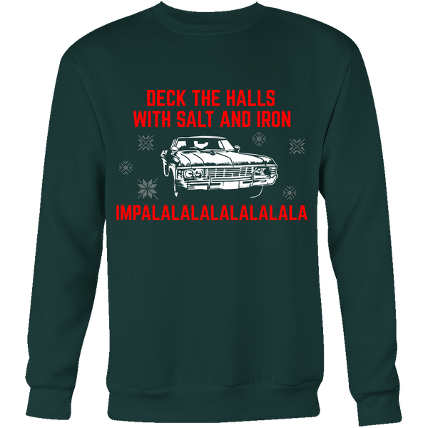 Deck The Halls With Salt and Iron - T-shirt - Supernatural-Sickness - 6