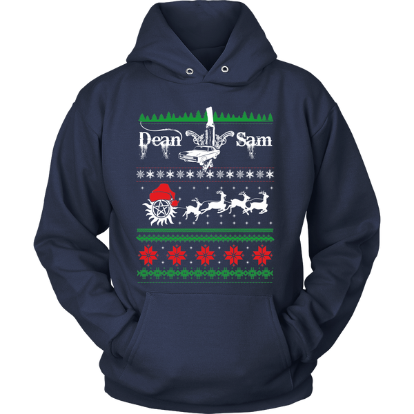Supernatural UGLY Christmas Sweater - T-shirt - Supernatural-Sickness - 12