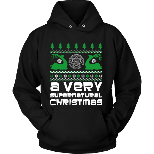 BGA Supernatural UGLY Christmas Sweater - T-shirt - Supernatural-Sickness - 10