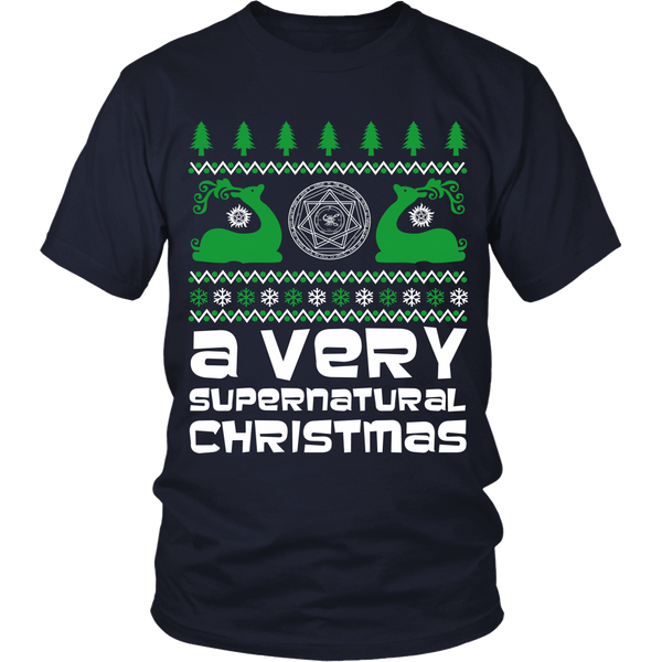 BGA Supernatural UGLY Christmas Sweater - T-shirt - Supernatural-Sickness - 8