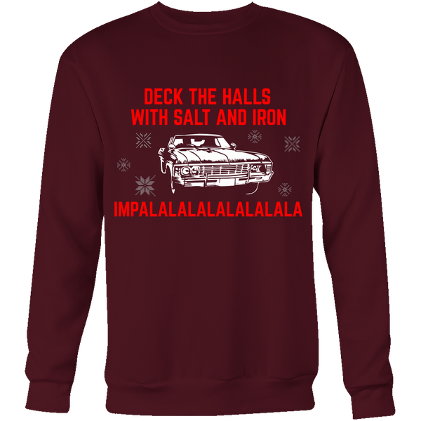 Deck The Halls With Salt and Iron - T-shirt - Supernatural-Sickness - 10
