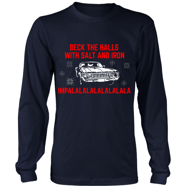 Deck The Halls With Salt and Iron - T-shirt - Supernatural-Sickness - 8