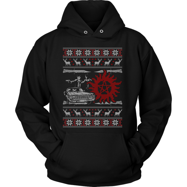 Supernatural UGLY Christmas Sweater - T-shirt - Supernatural-Sickness - 11