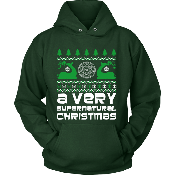 BGA Supernatural UGLY Christmas Sweater - T-shirt - Supernatural-Sickness - 11
