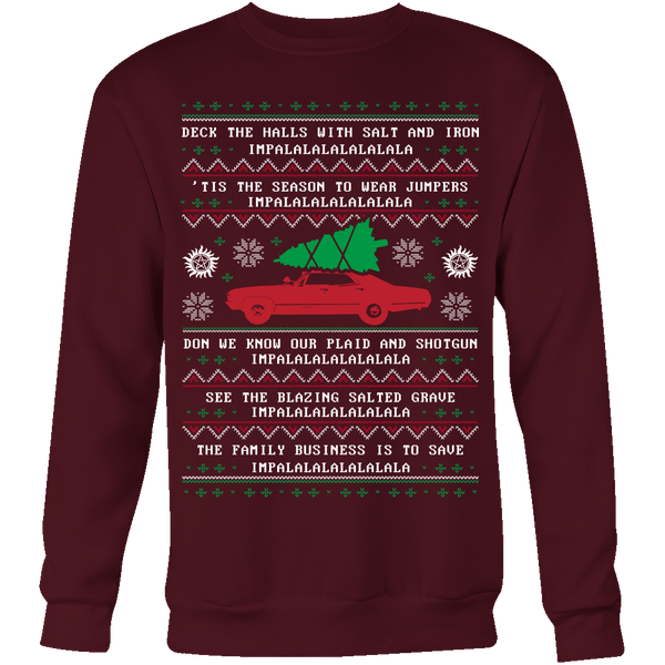 Supernatural Ugly Christmas Sweater - T-shirt - Supernatural-Sickness - 3