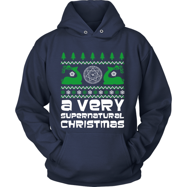 BGA Supernatural UGLY Christmas Sweater - T-shirt - Supernatural-Sickness - 12