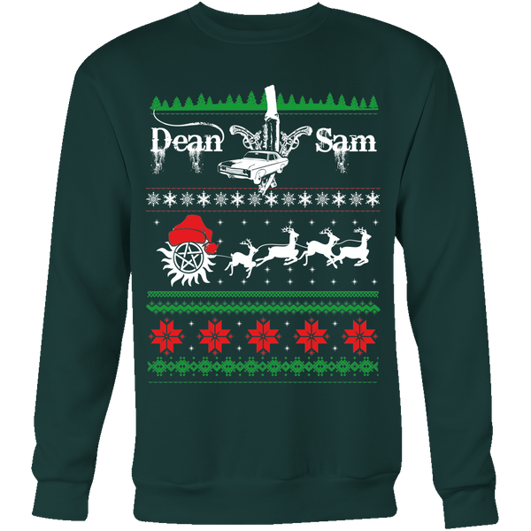 Supernatural UGLY Christmas Sweater - T-shirt - Supernatural-Sickness - 6