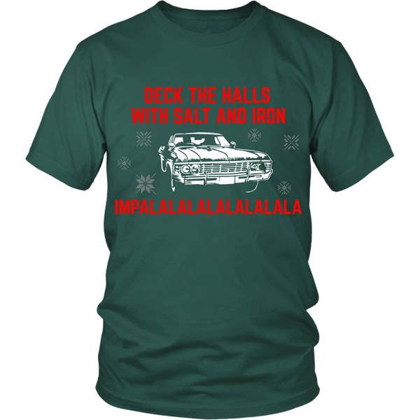 Deck The Halls With Salt and Iron - T-shirt - Supernatural-Sickness - 3
