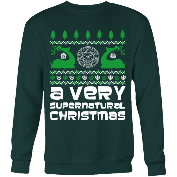 BGA Supernatural UGLY Christmas Sweater - T-shirt - Supernatural-Sickness - 5