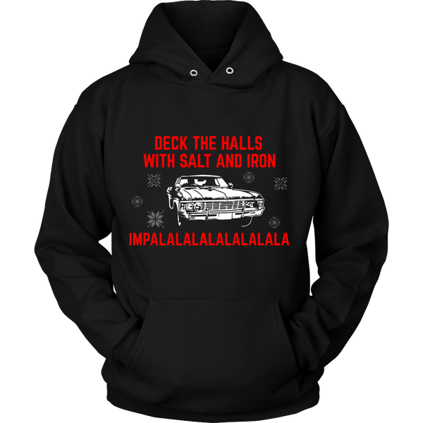 Deck The Halls With Salt and Iron - T-shirt - Supernatural-Sickness - 11