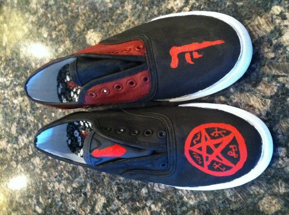 Crowley and the Demon Shoes - Shoes - Supernatural-Sickness - 1