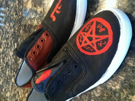Crowley and the Demon Shoes - Shoes - Supernatural-Sickness - 2