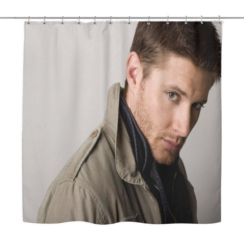 Dean Winchester Shower Curtain - Shower Curtains - Supernatural-Sickness - 1