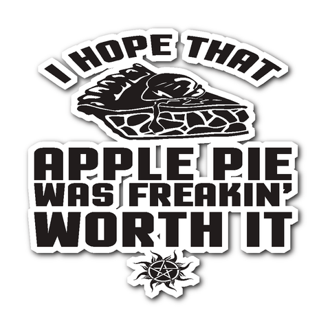 Apple Pie - Sticker - Stickers - Supernatural-Sickness